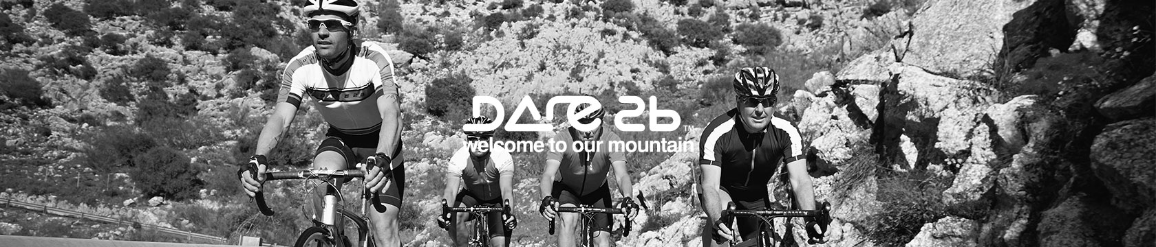 Group of cyclists wearing Dare2b clothes
