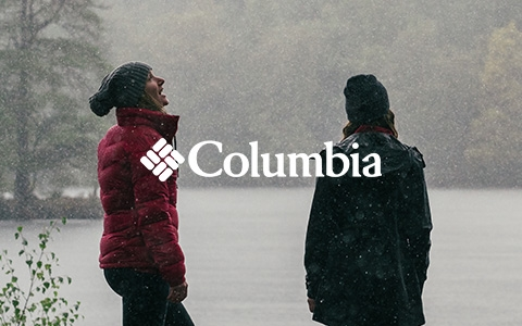 3 people wearing Columbia gear