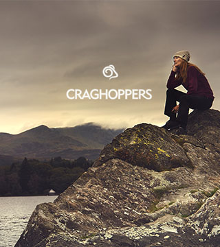 Exploring with Craghoppers gear.