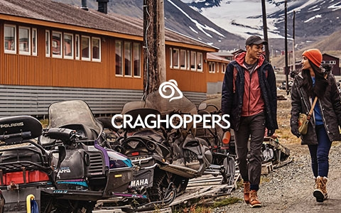 Woman and a man wearing Craghoppers gear