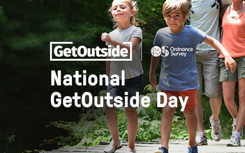 Ordnance Survey - National GetOutside Day header
