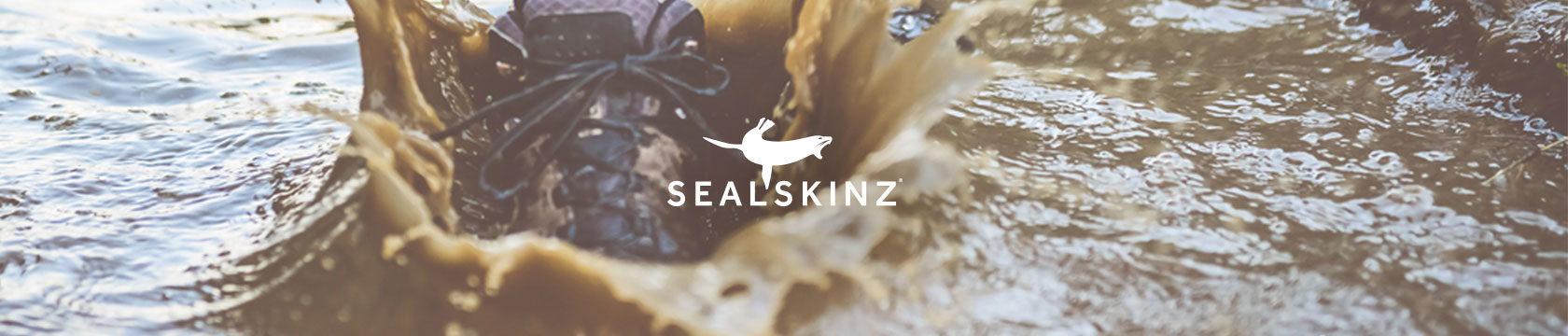 Splashing with Sealskinz.