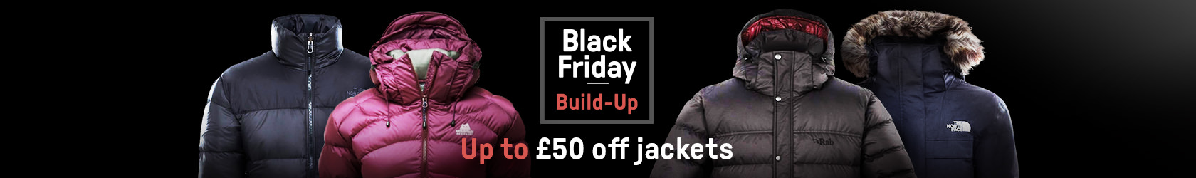 4 up to £50 off jackets