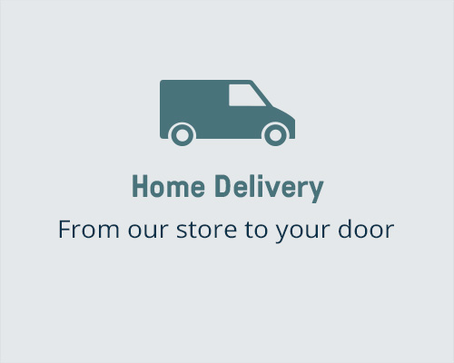 Home Delivery Service Message