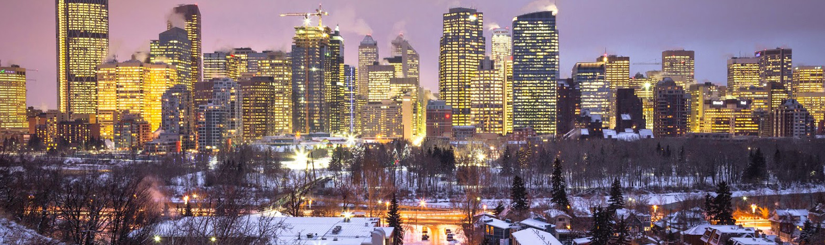 Calgary at Sunset by Sean Byrne