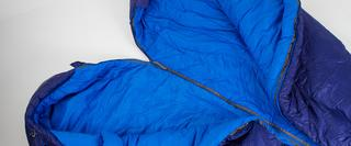Sleeping bag zip
