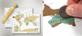travel size scratch map
