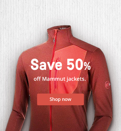 Save 50% off Mammut jackets