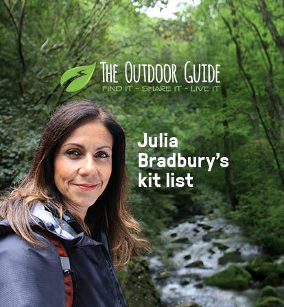 Julia Bradbury's Kit List
