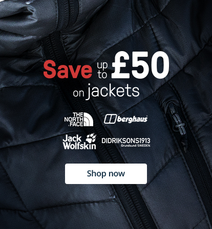 Save up to £50 on jackets