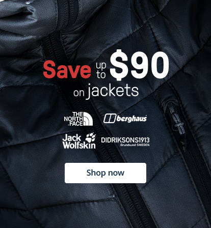 Save up to $90 on jackets