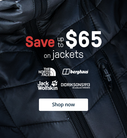 Save up to $65 on jackets