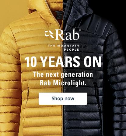 The next generation Rab Microlight