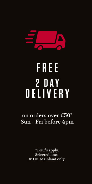 Free 2 Day Delivery on orders over £50