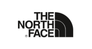 Black The North Face logo
