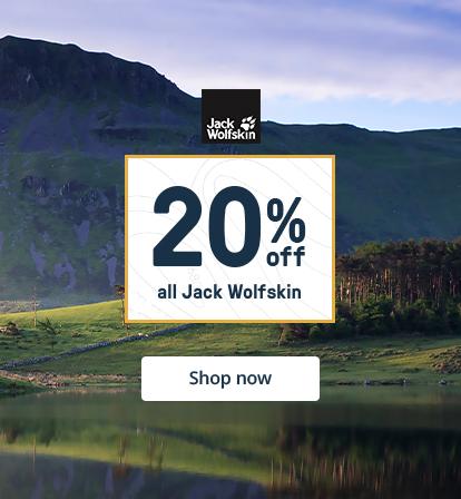 20% off Jack Wolfskin