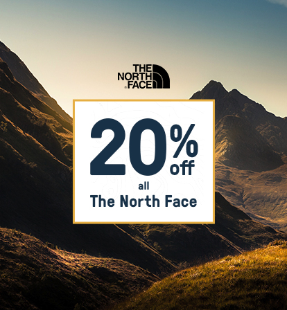 20% Off The North Face