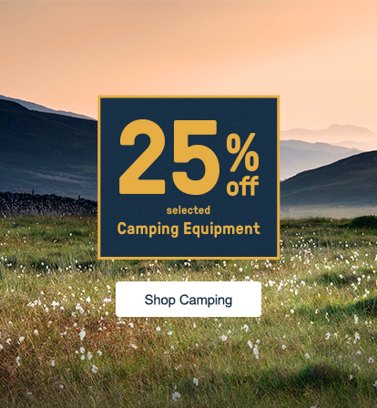 25% Off Camping