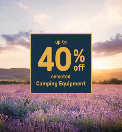 40% Off Camping