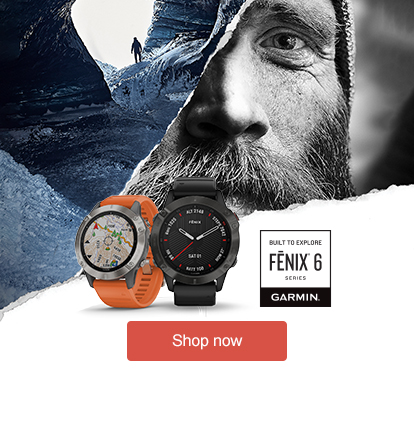 Shop the new Garmin Fenix 6 Series Range