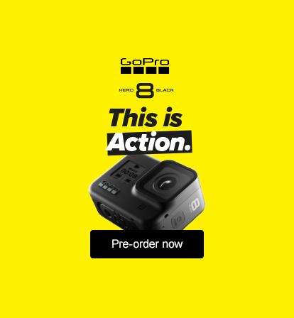 Pre-order the new GoPro Hero8 Black