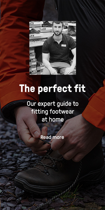 The perfect fit. Our expert guide to fitting footwear at home.