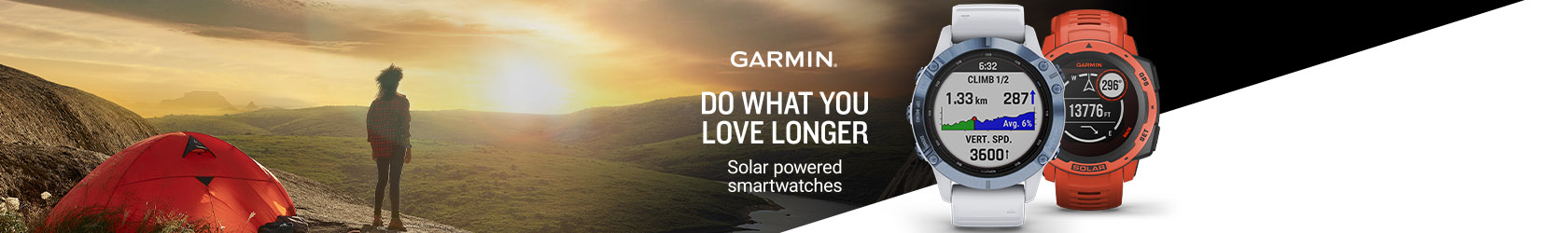 Shop New Garmin Solar watches