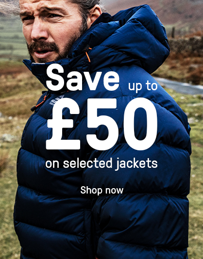 Up to £50 off Jackets