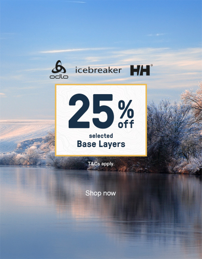 25% off Selected Base Layers