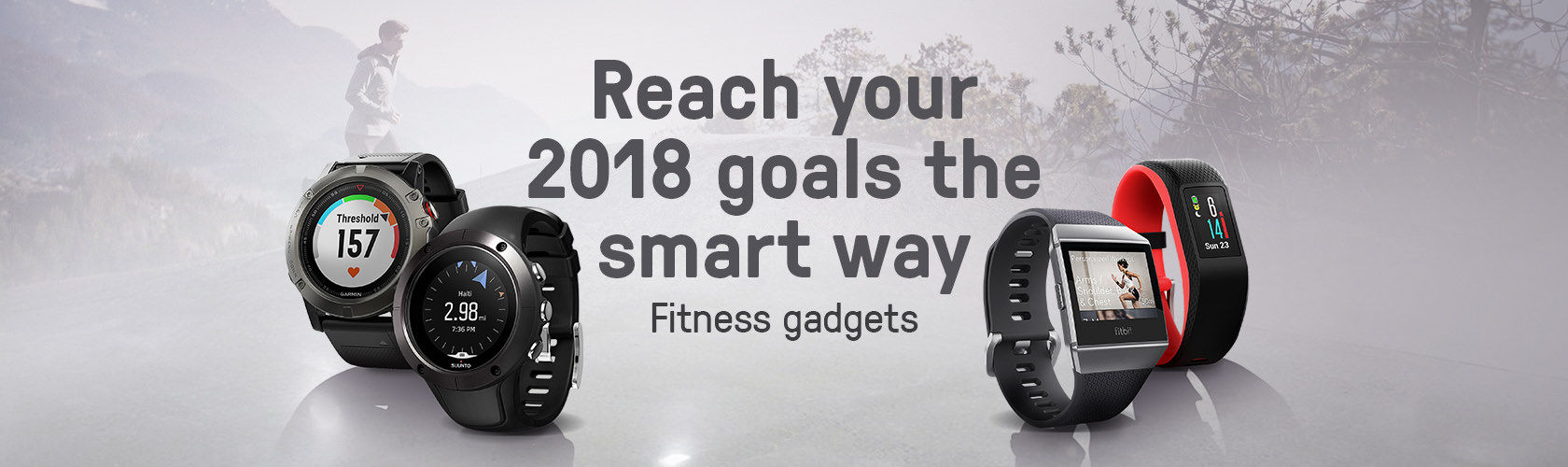 Fitness Gadgets 2018 Promotional Banner